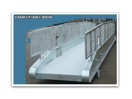 Crane Liftable Mezzanine Brow