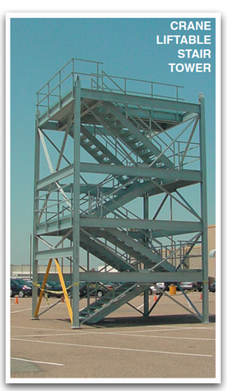 Equipment Platforms Stair Tower ...