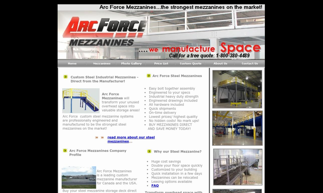 Arc Force Mezzanines, Inc.