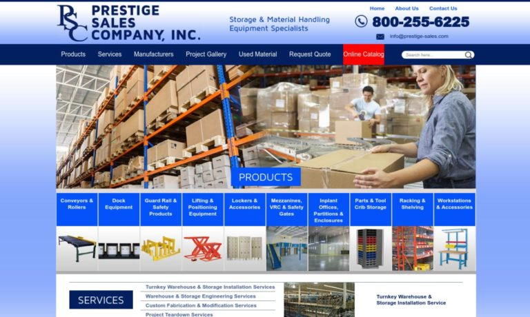 Prestige Sales Co., Inc.