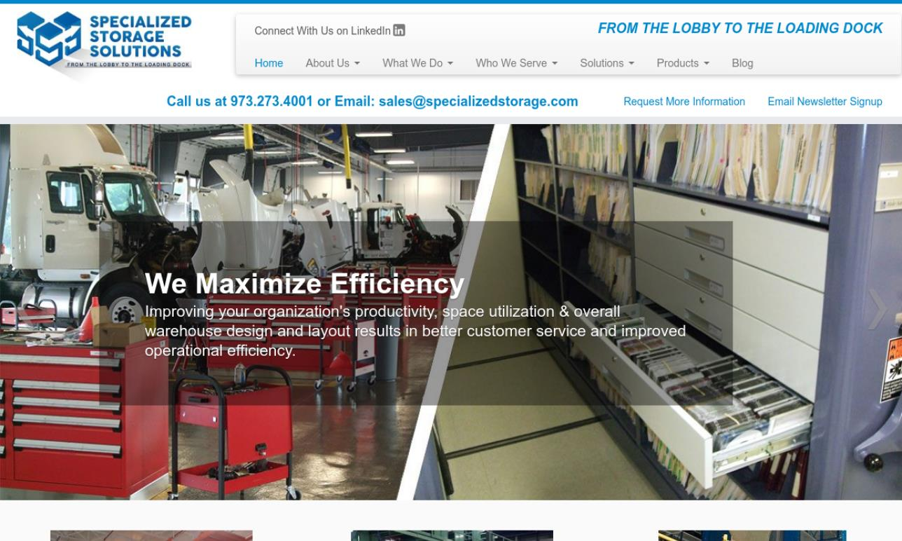 Specialized Storage Systems Inc.