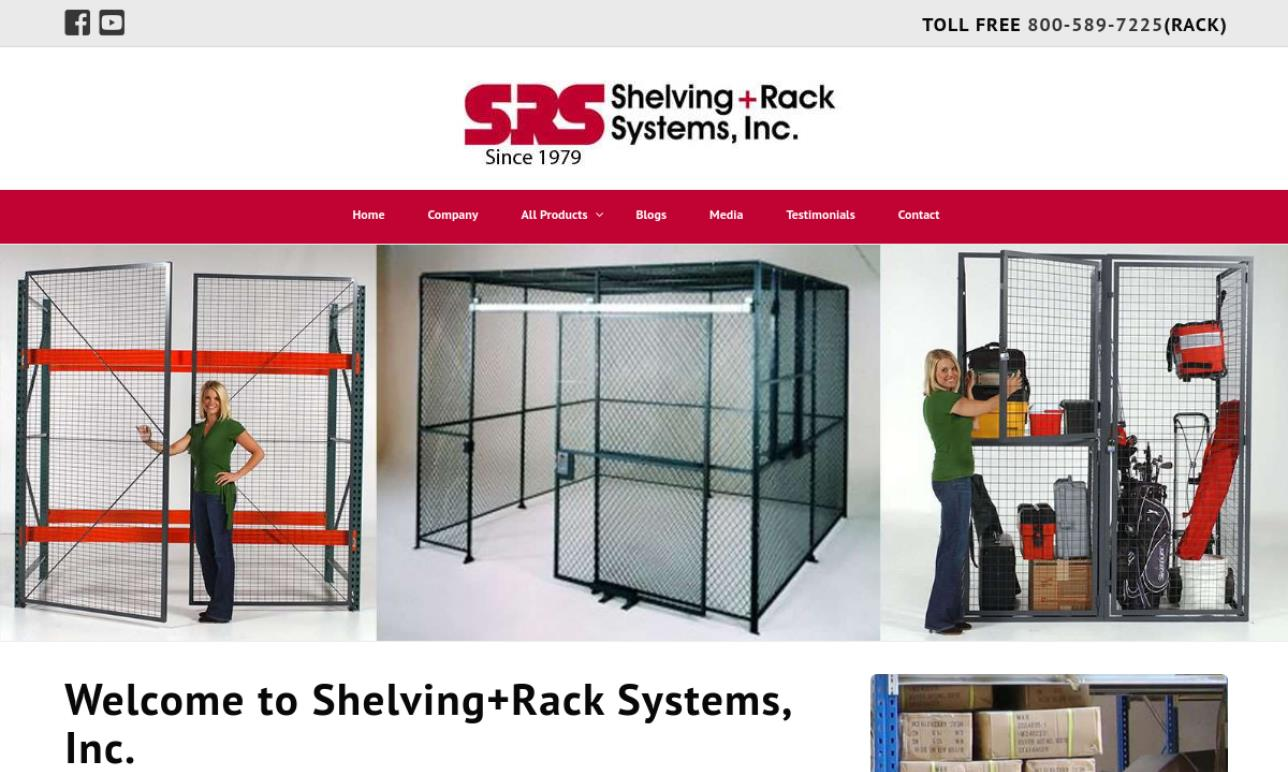 Shelving + Rack Systems Inc.