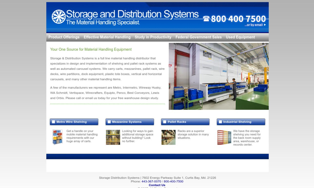 Storage & Distribution Systems
