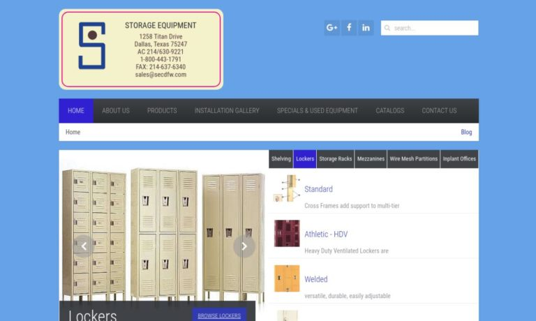 Storage Equipment Company, Inc.