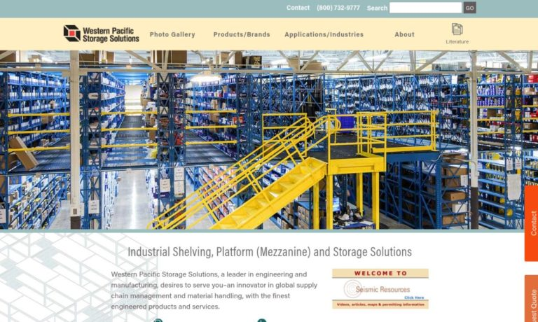 Western Pacific Storage Systems